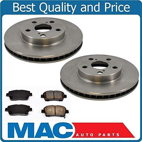 Mac Auto Parts 20273 Celica GT Front Brake Rotors & Ceramic Pads