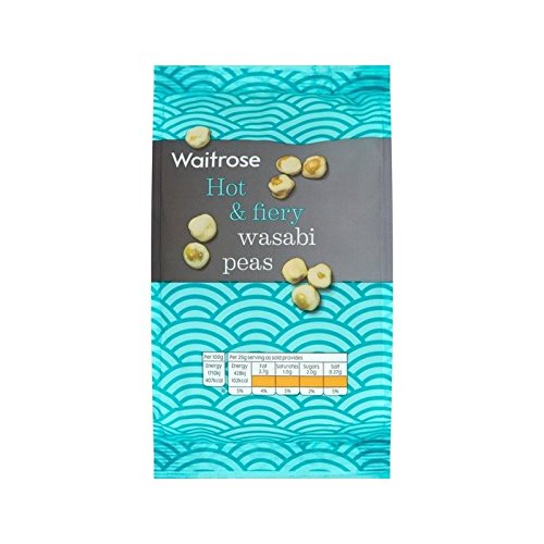 Wasabi Peas Waitrose 200g - Pack of 6 by WAITROSE