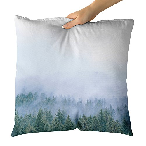 Westlake Art - Throw Pillow Cover - Cloud Forest - Photography Home Decor Living Room - 18x18in (g8r 412 6c5) (Pillow Mountain Pine Designs)