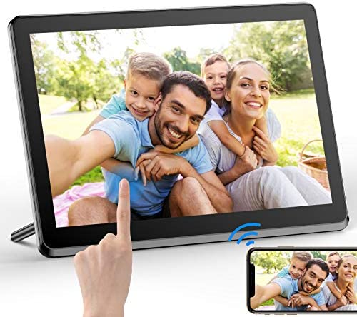 Digital Picture Frame 8 Inch WiFi Digital Photo Frame FHD 1920×1080 IPS Touch Display Screen 8GB Storage Share Photos via App,Email,Cloud from Anywhere