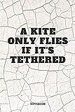 Notebook: Funny Kite Surfing Quote / Kitesurfing