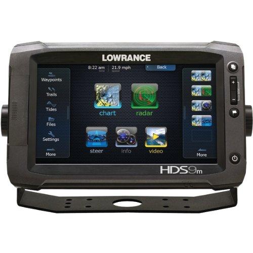 Lowrance HDS-9 Gen2 Touchscreen Chartplotter/Fishfinder w/ 83/200KHz Transducer / 000-10771-001