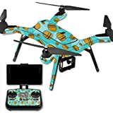 MightySkins Protective Vinyl Skin Decal for 3DR Solo Drone Quadcopter wrap cover sticker skins Burger Heaven