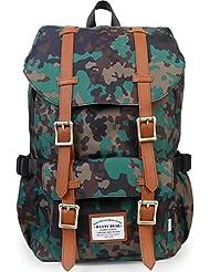 DANNY BEAR Travel Backpack Outdoor Laptop Rucksack Casual Shoulder Daypack School Packs Fits 15 Laptop