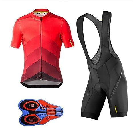Hombres Ciclismo Camisetas Conjuntos de Ropa de Bicicleta Seca ...