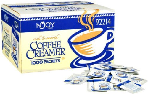 N'JOY Nondairy Coffee Creamer Packets - 1,000/2.5g