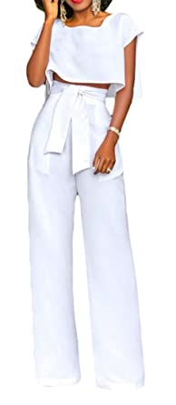 H&E - Conjunto de Traje Casual para Mujer con Corbata de Cintura ...