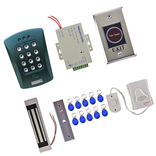 Dovewill Door Access Control System Kits Magnetic Access Control Home Entrance Security by Dovewill