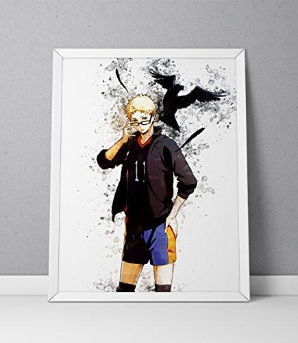 Haikyuu print, Haikyuu poster, Haikyu print, Haikyu poster, Kei Tsukishima print, Kei Tsukishima poster,