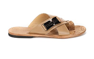 b8149662d3f Good Man Beige Leather Italian Designer Summer Men s Sandals ...