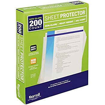 Amazon Com Tyh Supplies Economy 11 Hole Clear Sheet