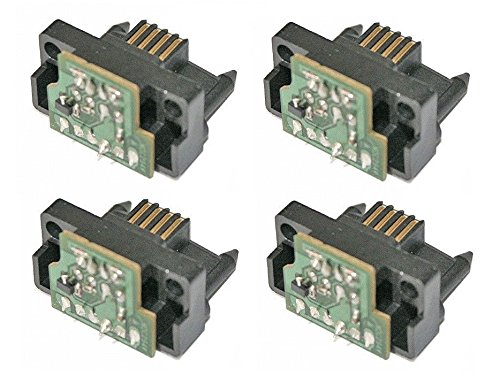 AAA Compatible Drum Reset Chip Replacement for Lexmark C935, X940, X945 Photoconductor Unit Reset Refill (4-Pack)