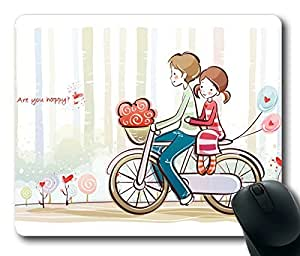 Cute Lover Masterpiece Limited Design Oblong Mouse Pad by Cases & Mousepads