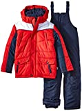 Rothschild Little Boys' Side Panel Snowsuit, Red, Medium/5/6