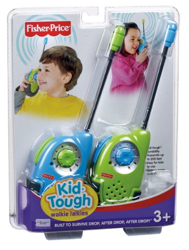 Fisher-Price Kid-Tough Walkie Talkies (Colors May Vary) by Fisher-Price (Image #6)