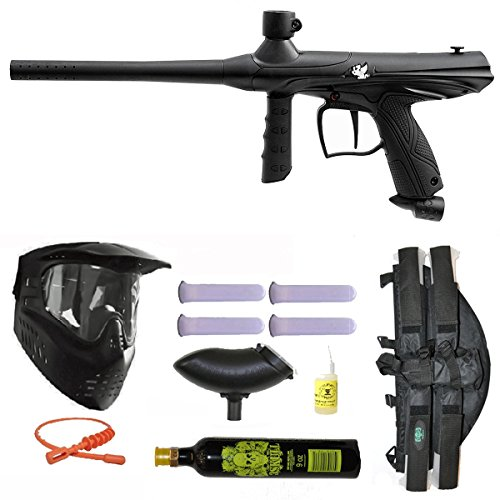 4+1 20 Oz Tank (Tippman Gryphon Paintball Kit (Includes Mask, Tank, Loader and 4+1))