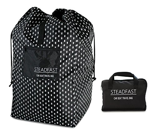 XL Car Seat Travel Bag & Carrying Case - Unique, Durable Backpack, Universal for All Brands, Airport Gate Check Ready