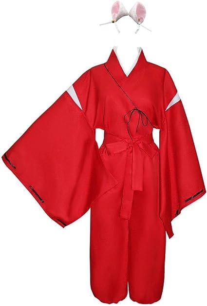 Fashion Anime Inuyasha Inuyasha cosplay costume Any Size