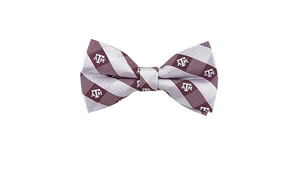 Texas A/&M Aggies Repeated Logo Bow Tie NCAA College Team