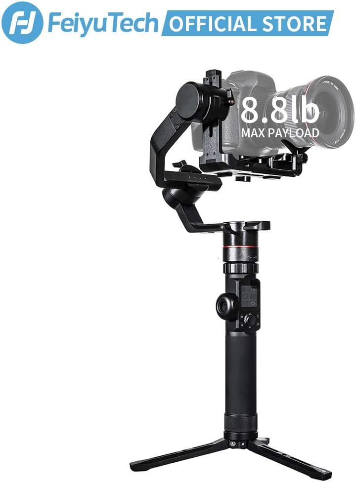 FeiyuTech AK4000 Gimbal, diseñado para cámaras réflex Digital ...