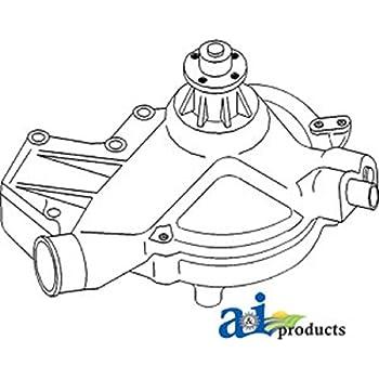 Amazon Com John Deere Aftermarket Water Pump Ar98549 4040 4230