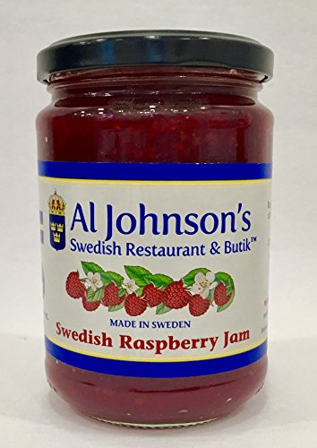 Al Johnson's Swedish Raspberry Jam (Sauce Raspberry Preserves)