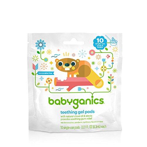 Discount Babyganics Single-Use Teething Gel Pods - 10 CT for sale