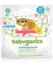 Babyganics Single-Use Teething Gel Pods - 10 CT
