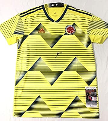 lower price with 7f9ee 6ad21 James Rodriguez Signed Jersey - Colombia Coa Copa America ...