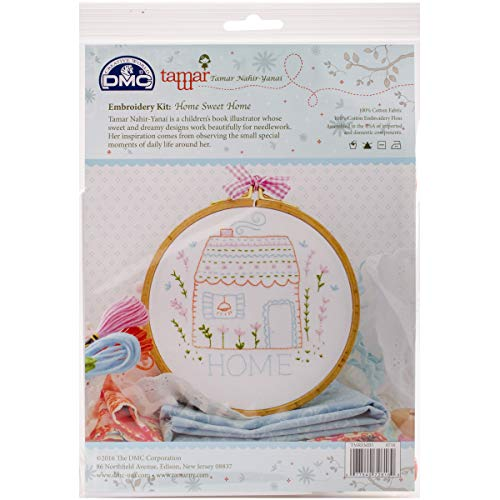 DMC Sweet Home Charles Craft/Tamar Embroidery Kit for $<!--$7.62-->