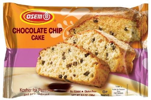 Osem Chocolate Chip Cake (Kosher for Passover), 8.8 Ounce (Pack (Osem Chocolate Cake)