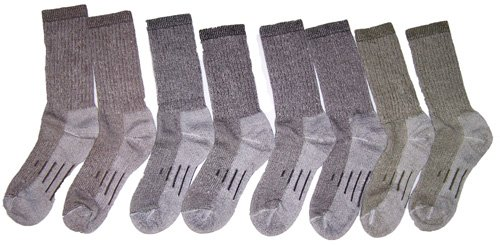 aa98e3af4 Kirkland Signature Outdoor Trail Sock Merino Wool Blend Medium
