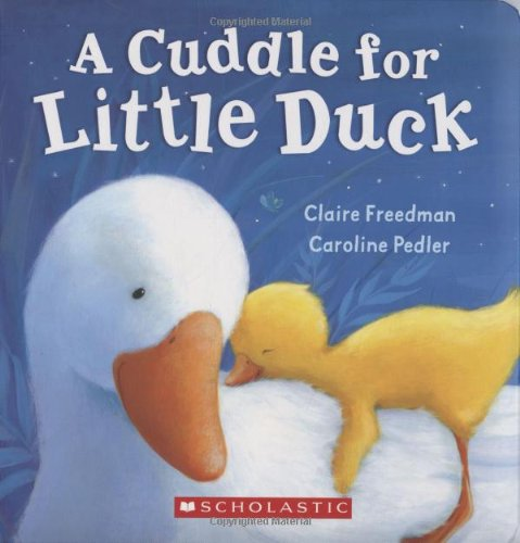 A Cuddle For Little Duck