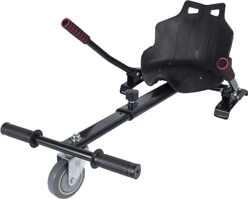 """ICAROTECH SISTEMS– HoverKart para Patinete Eléctrico para adulto y niños Compatible con Hoverboard 6,5"""" Color Negro: Amazon.es: Deportes y aire libre"""