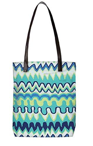Snoogg Strandtasche, mehrfarbig (mehrfarbig) - LTR-BL-3227-ToteBag