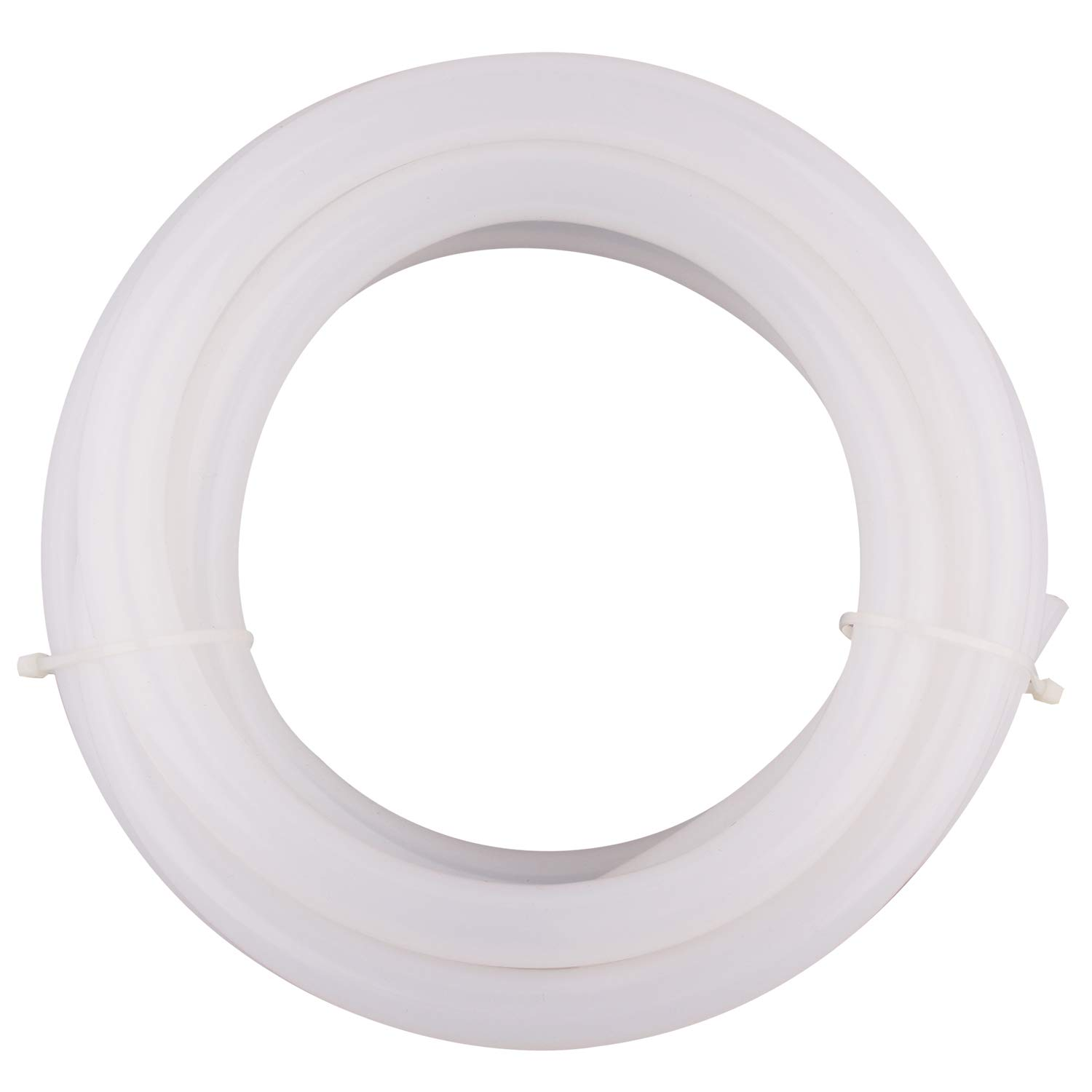 """DERPIPE Silicone Tubing – 1/2""""ID 3/4"""" OD Food Grade Flexible Thick for Homebrewing Pump Transfer 3 Meters(10ft) Length"""