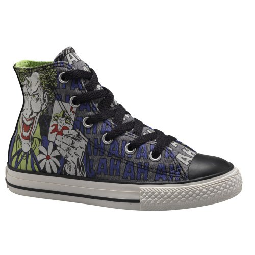 Converse Chuck Taylor All Star Kids Hi Top Dc Comics Batman vs. Joker