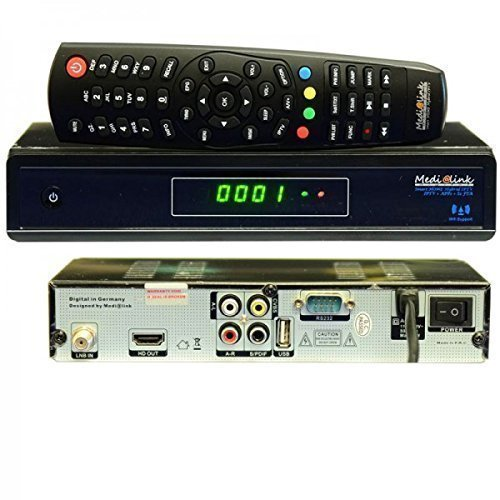 Medi@link Smart Home Hybrid DVB-S2 FTA + IPTV Digital Sat Receiver FullHD 3D Medialink Media@link