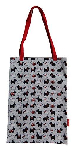 Selina-Jayne Scotty Hunde Limitierte Auflage Designer Baumwolltasche (Tote Bag) X1sp4PqAS