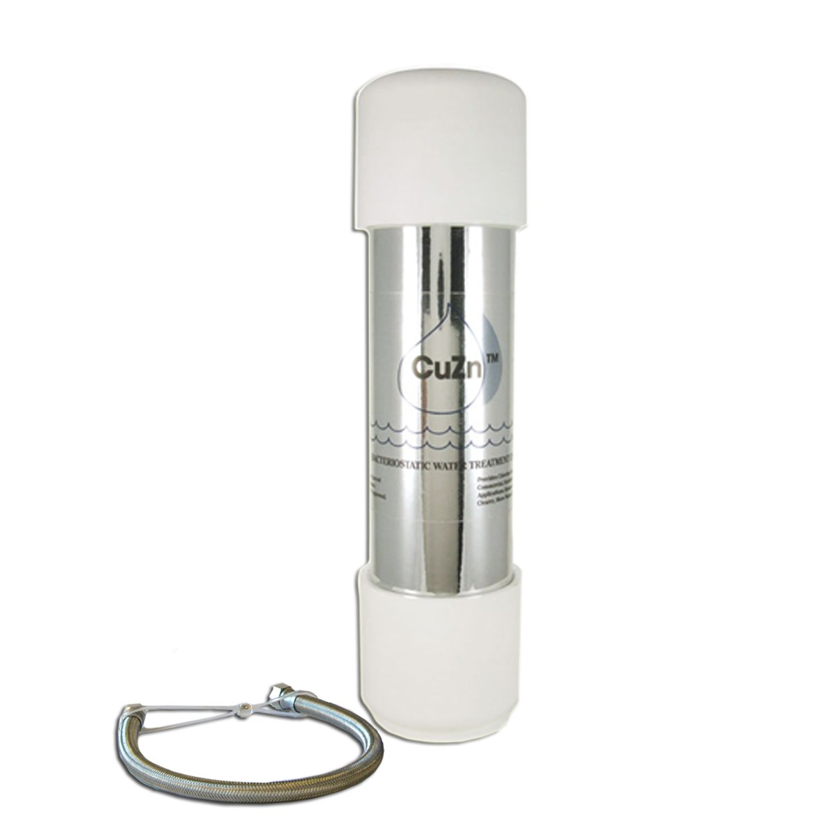 CuZn UC-200 Under Counter Water Filter - 50K Ultra High Capacity - Made in USA by CuZn Water Systems