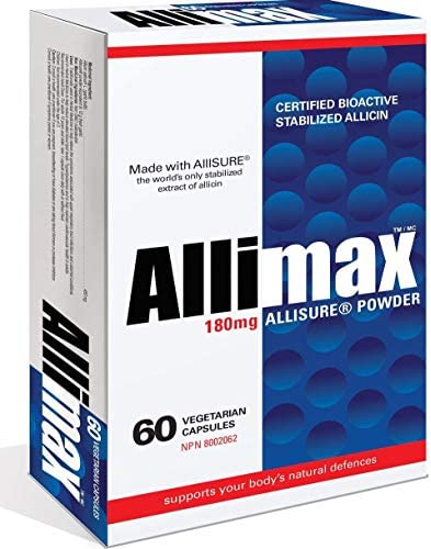 Allimax, 180 mg, 60 Capsules