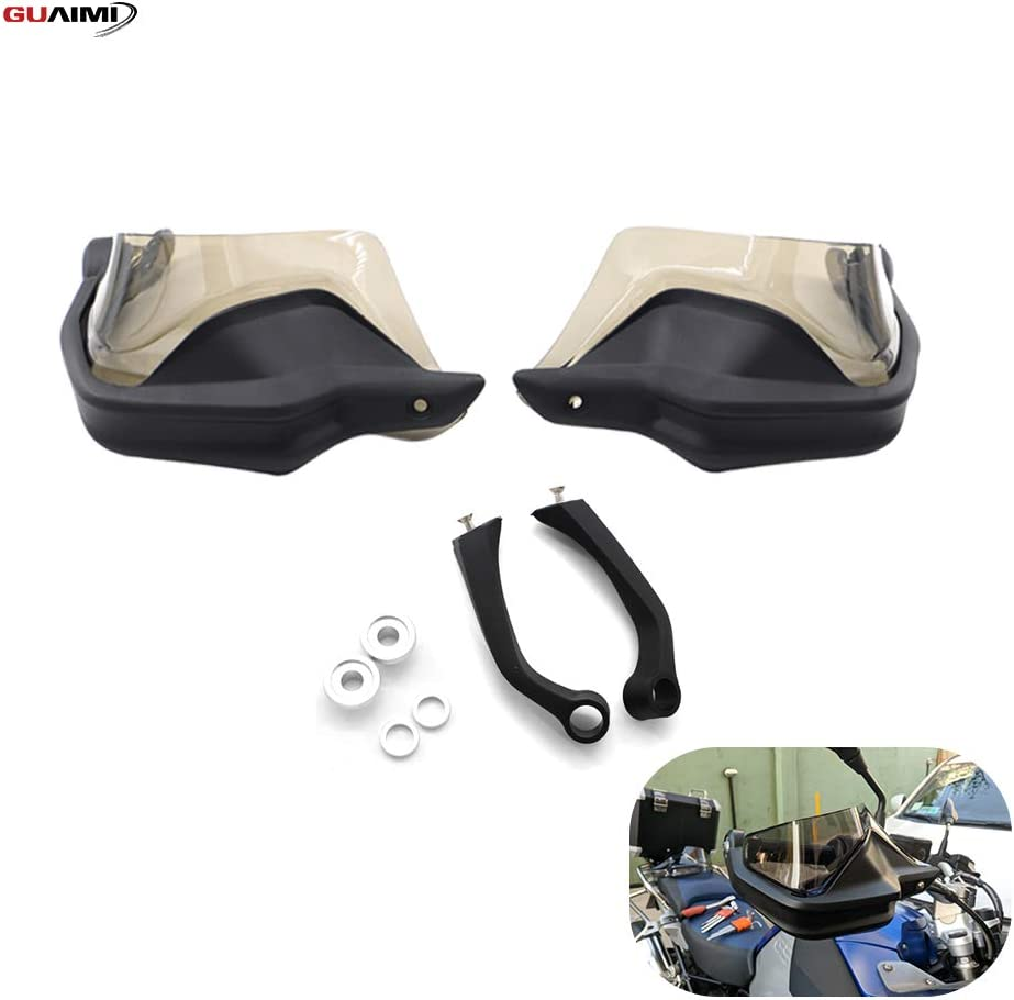 GUAIMI Handguards Hand Shield Protector Hand Guard Extensions Set for BMW R1200GS//GS ADV Watercooled R1250GS//GS ADV S1000XR F800GS ADV Brown
