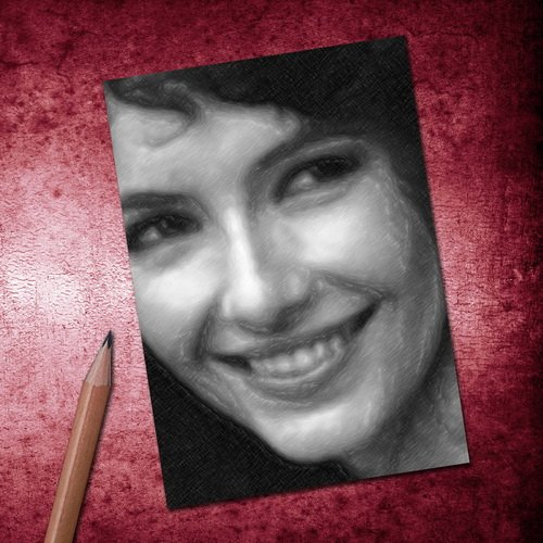 Seasons MARY STEENBURGEN - ACEO Sketch Card (Signed by the Artist) #js004
