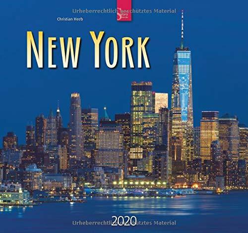 New York  Original Stürtz Kalender 2020   Mittelformat Kalender 33 X 31 Cm