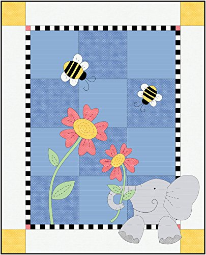 - Beautiful Basics Eloise Elephant Quilt Kit Maywood Studio