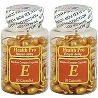 2 x Royal Jelly Vitamin-E Skin Oil 90 Gel, Moisture Complex Health Pro Facial Oil...