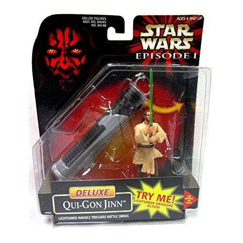 Star Wars Episode I - Deluxe Qui-Gon -
