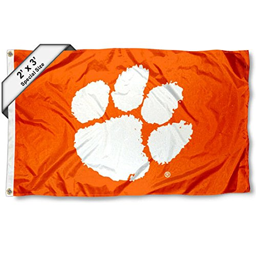 - College Flags and Banners Co. Clemson Tigers 2x3 Foot Flag
