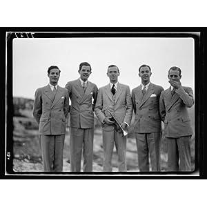 Photo: Asbury College quartette & leader