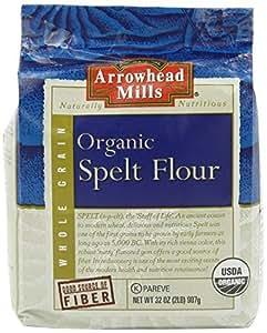 Arrowhead Mills Organic Spelt Flour, 2 Pound -- 6 per case